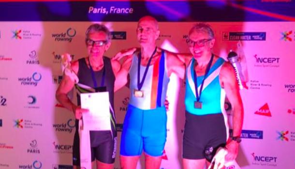 Lichte beginneling wereldkampioen in 6:45,6: 'eerst vond ik ergometeren saai'