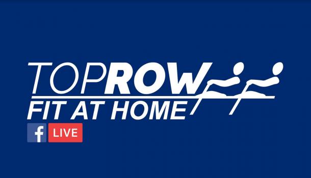 [promotie] train live mee met Toprow: zondag 10 uur!