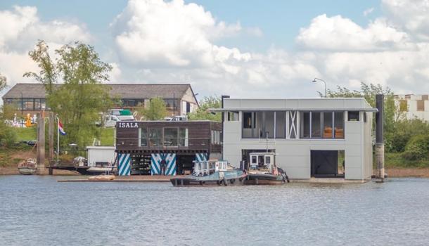 Nieuwe botenhuizen voor Isala en Neptunus