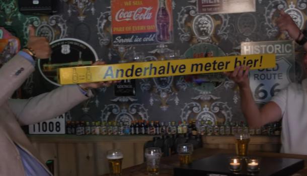 Tot 1 september geen wedstrijden verwacht, studenten uit training met 1,5 meter bier