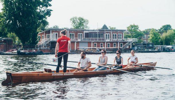 [promotie] Beginnerscurcus roeien in ploegen weer van start bij Roeicentrum Berlagebrug