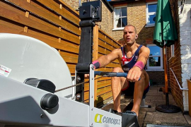 Mohamed Sbihi verbetert Brits record op Concept2: 5:39,4