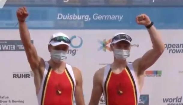Europees kampioenen uit België balen een beetje