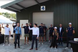 Pampus timmert aan de waterweg: nieuwe loods geopend