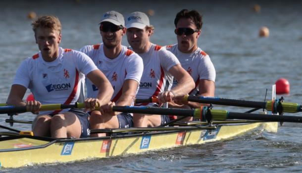 Morgen 10 olympische boten in A-finales