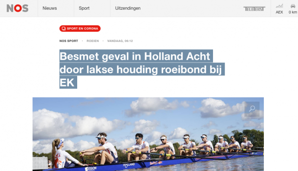 Bond hekelt NOS vanwege vermeende laksheid bij coronagevallen Holland Acht