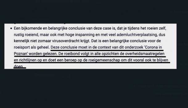 """Professor Diercks: 'Roeibond mag deze conclusie niet trekken"""""""