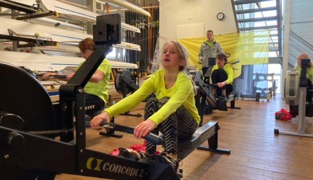 Strijd op afstand: ergometerwedstrijd voor de jeugd