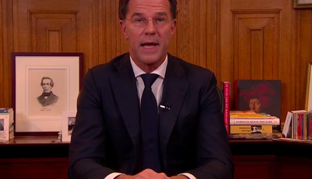 Toespraak Rutte: Nederland op slot, buitensport blijft zeer beperkt mogelijk