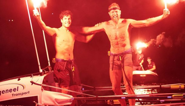 Slats en Wiedmer winnen bij oceaanrace nogal ruim