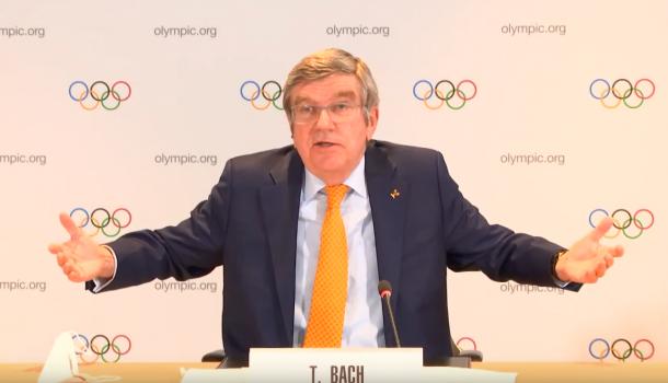 IOC-baas Bach wil dat Olympische Spelen doorgaan
