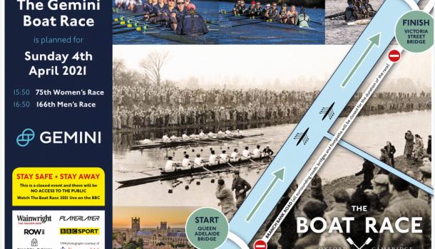 Kijk live naar the Boat Race: 16:50 u vrouwen & 17:50 u mannen