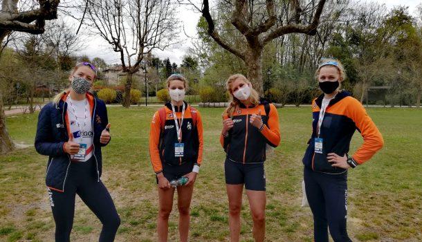 EK Varese: grotendeels geslaagde eerste dag