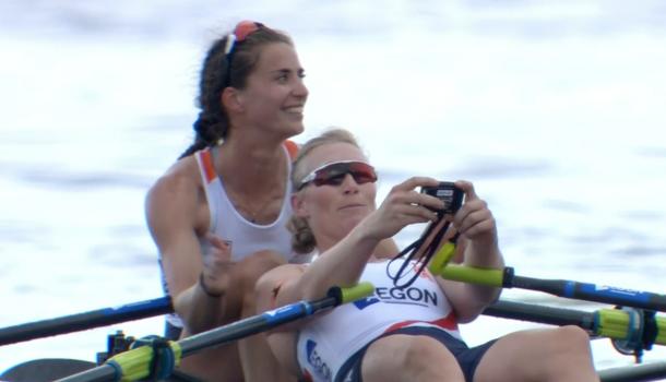 Goud voor Roos de Jong en Lisa Scheenaard