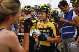 Amber Kraak prof bij wielerploeg Jumbo-Visma: 'klimmen viel op'