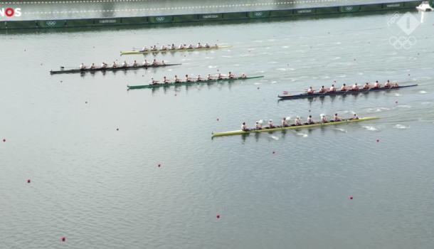 Kiwi8 olympisch kampioen, Holland Acht vijfde