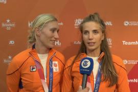 Vrouwenploegen voor Telegraafcamera: 'Het was een achtbaan'