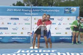 Superstunt: meisjesdubbel wereldkampioen!