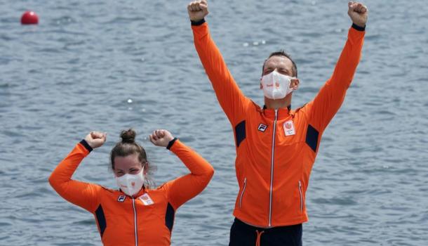 De Koning en Van der Meer grijpen zilver: 'fit genoeg om drie dagen op rij maximaal te gaan'