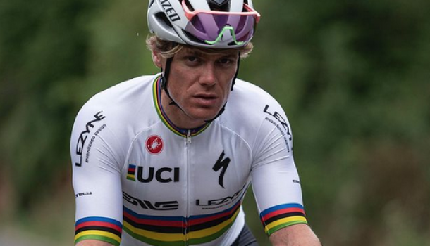Zilveren olympiër Osborne krijgt wielercontract
